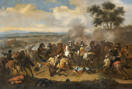Battle of the Boyne 1690 Adam Downing
