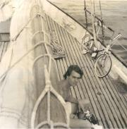 Me on Voyageur 1972
