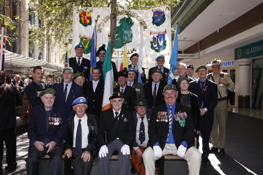 ANZAC Day 2013 UIESAA Main Group Photo