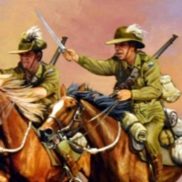 The Anzac on the Wall: Australian Light Horse