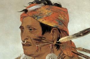 Chief Tecumseh Portrait