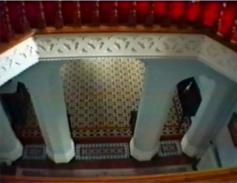 Barrettstown Hall looking down